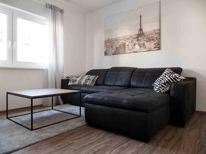 Nagelneu renovierte stylische  70 qm Wohnung