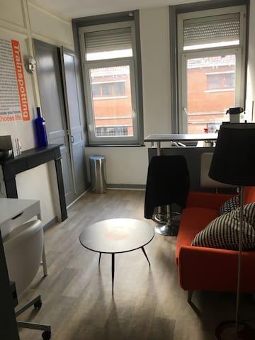 Joli appartement confortable, centre. - Lille - Apartamento