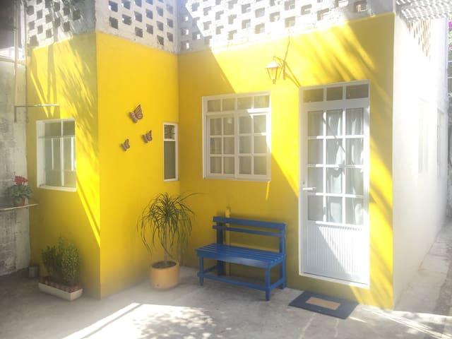 Luminoso estudio en Coyoacán - Città del Messico - Loft