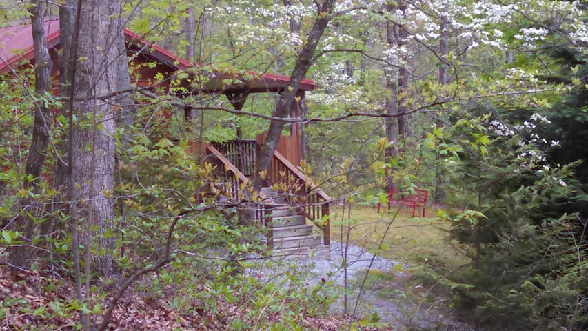A Country Retreat at ClearCreekCabins(Woods Cabin) - Hendersonville