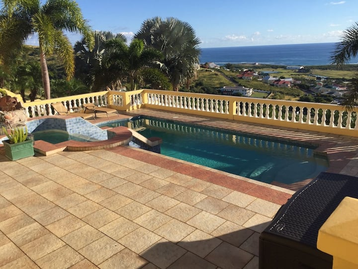 Stunning Caribbean Poolside Villa