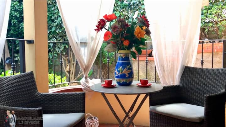 Apartment with 3 bedrooms in Alassio, with enclosed garden and WiFi - 100 m from the beach