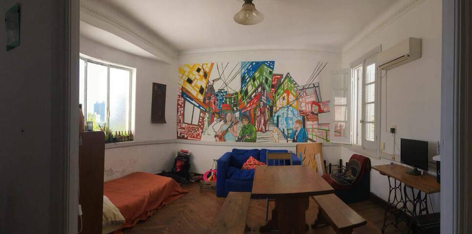 Apartamento luminoso en Barrio Palermo