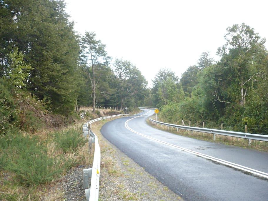 Camino acceso