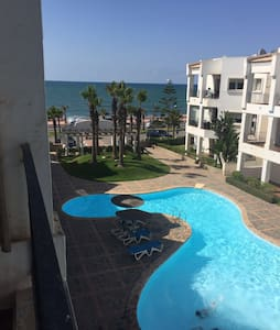AMAZING BEACH APARTMENT ON THE SEA FRONT - Casablanca