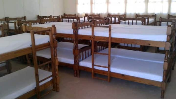 Dormitories Male & Female, Tent & Caravan Stands