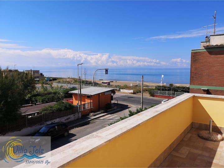 Villa Iole app.4 Attico vista mare