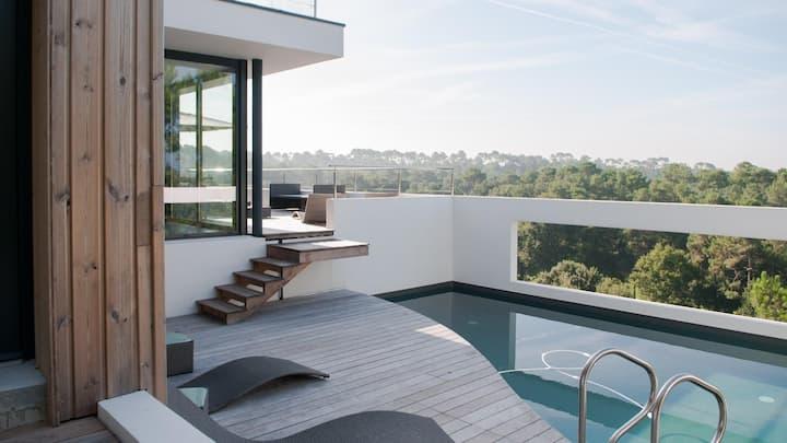 Villa de luxe sur site d'exception