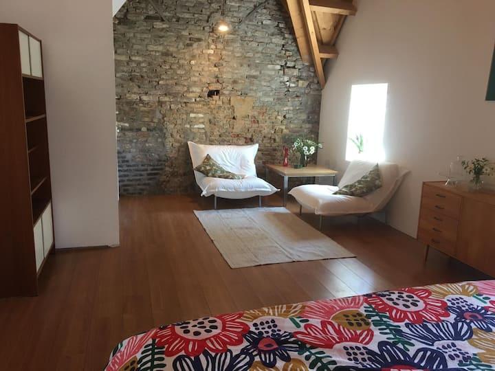 Comfortabele kamers in monumentale boerderij