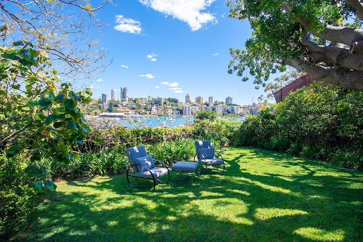 Historic Estate on Sydney harbour,  Double Bay
