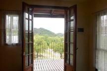 Vista desde la puerta de entrada a La Purisima