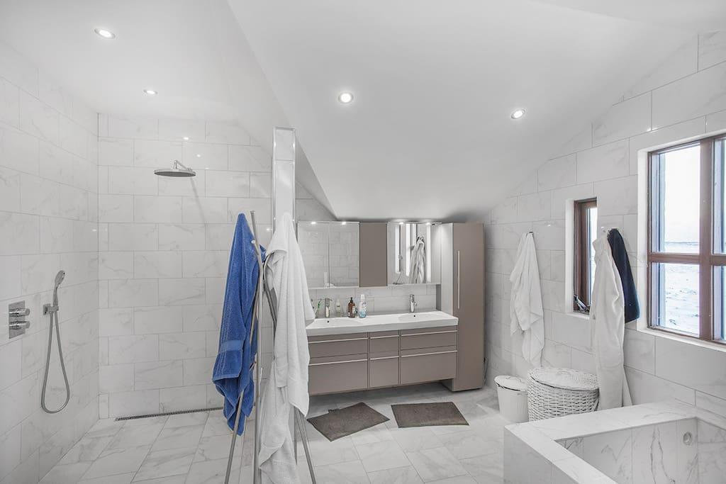 Luxury Wet Room and Bathtub
