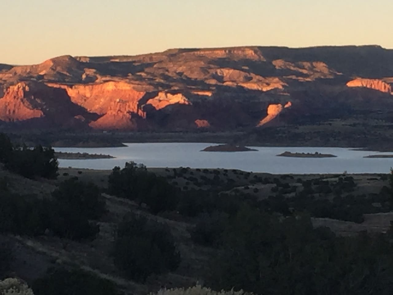North view: Abiquiu Lake & Ghost Ranch