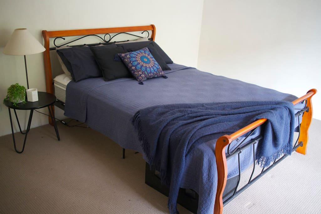 Bright, sunny bedroom