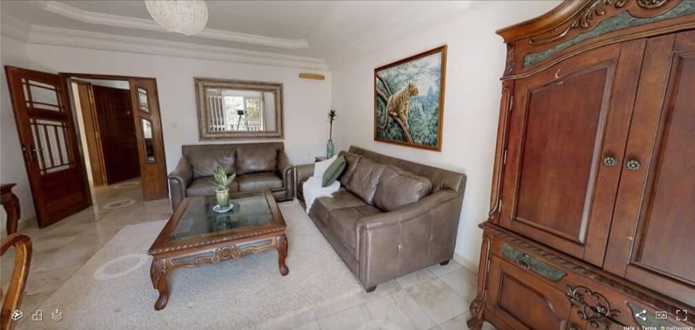 Appartement Amina au premier calme et accessible