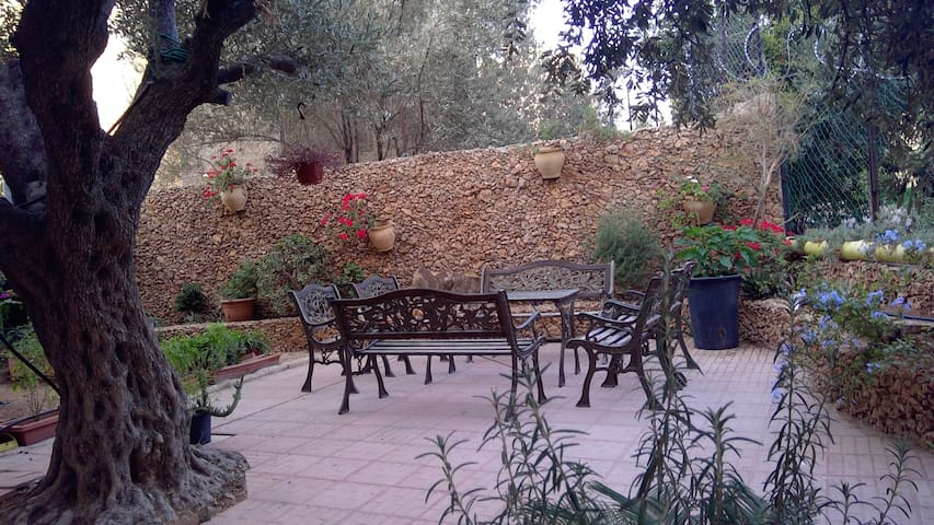 E. Jerusalem Home w Beautiful Garden - Room 3