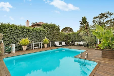 Large Home in Beautiful Balmoral Beach - Mosman - Ház