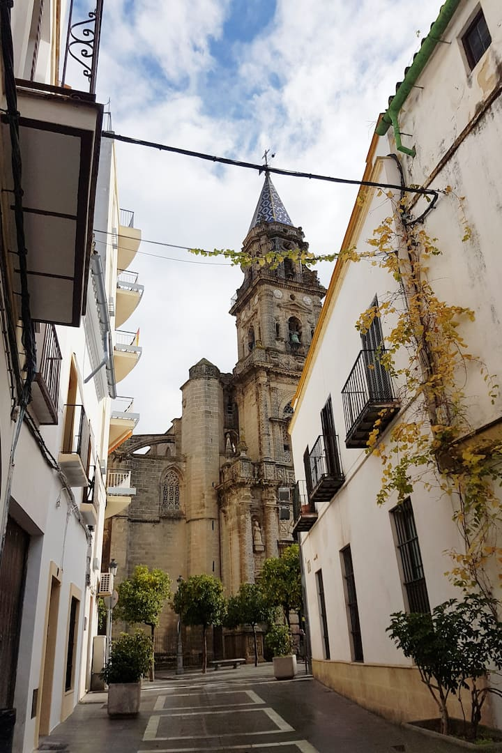 Entering  Barrio San Miguel