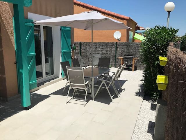 Agréable villa T3 à 200m de la plage