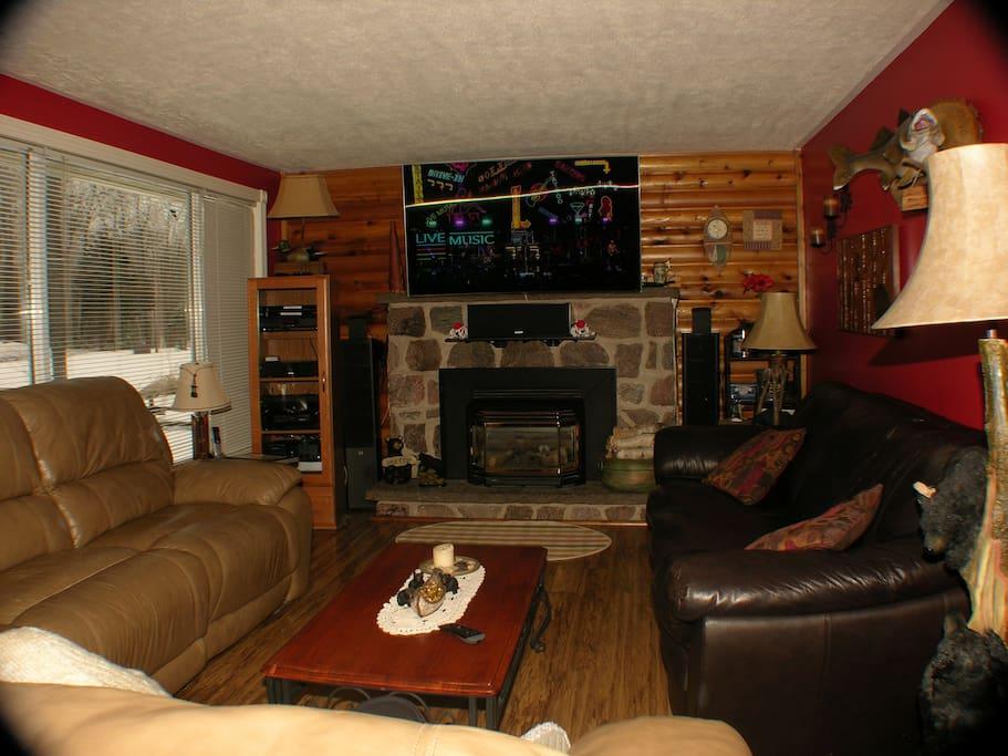 "Living Room 65"" 4K SUHD TV"