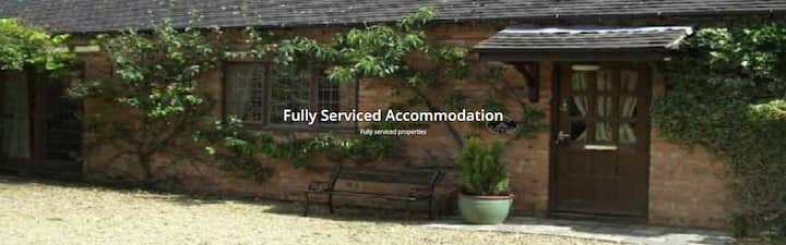 Two Bedroomed Lodge/ Fully serviced ground floor