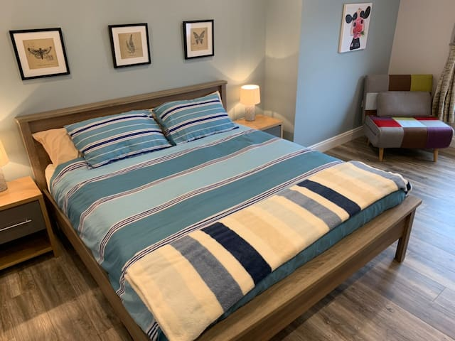 Super-king sized bed