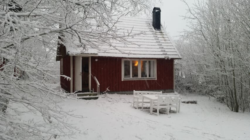 Typical swedish wooden cabin - Hässleholm - Chatka