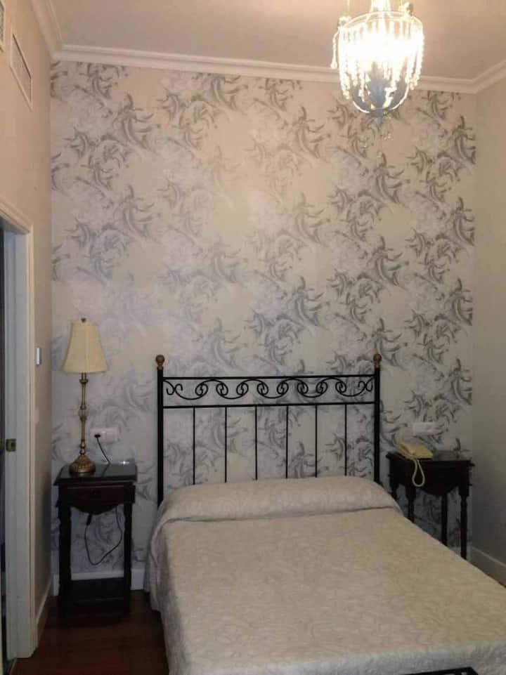 Le petit Paris - Habitación Doble - 1 o 2 camas. Baño privado. Aire Acondicionado, TV y WIFI. - Tarifa estandar