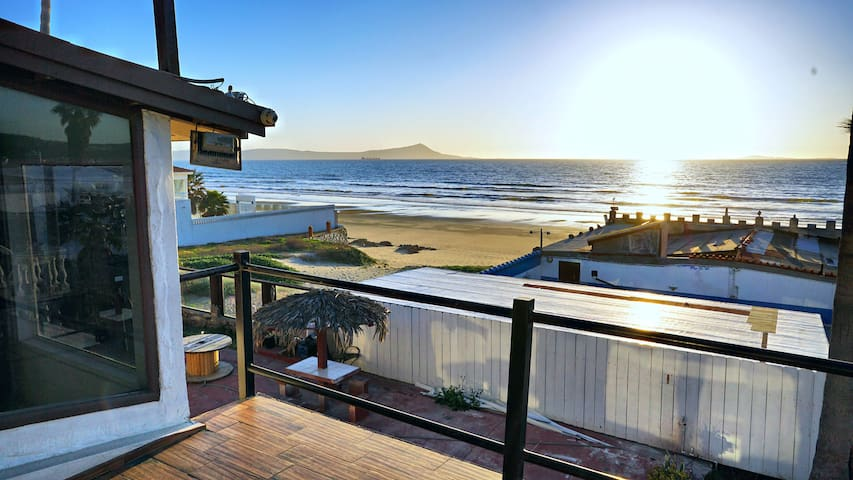 SANITIZED BeachFront Condo walk to Sand w/ Terrace