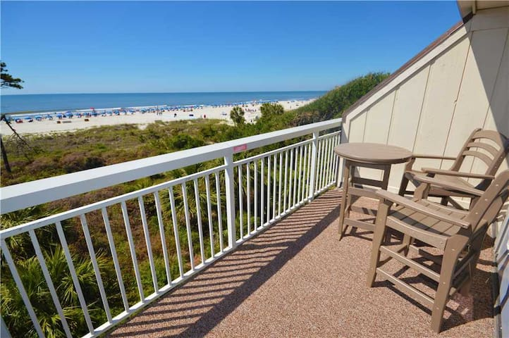 311 Breakers | UPDATED Throughout | Amazing Oceanfront View | Across the Street from Coligny Plaza!