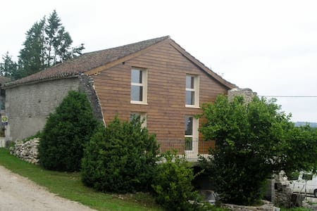 Maison de vacances proche de St-Cirq-Lapopie - Saint-Géry - Přírodní / eko chata