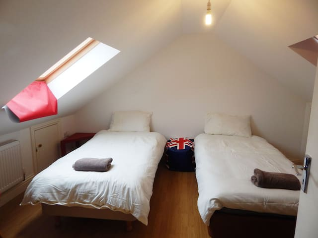 Loft bright room few minutes to Central London