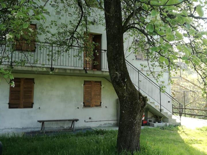 Casa nel verde in Valchiusella