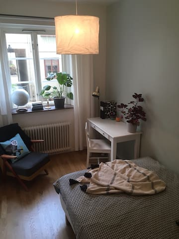 Room near Linnégatan with a spectacular view.