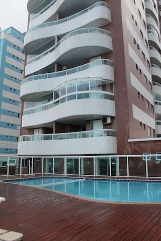 Apartamento na Praia Grande em frente ao mar - Praia Grande - Wohnung