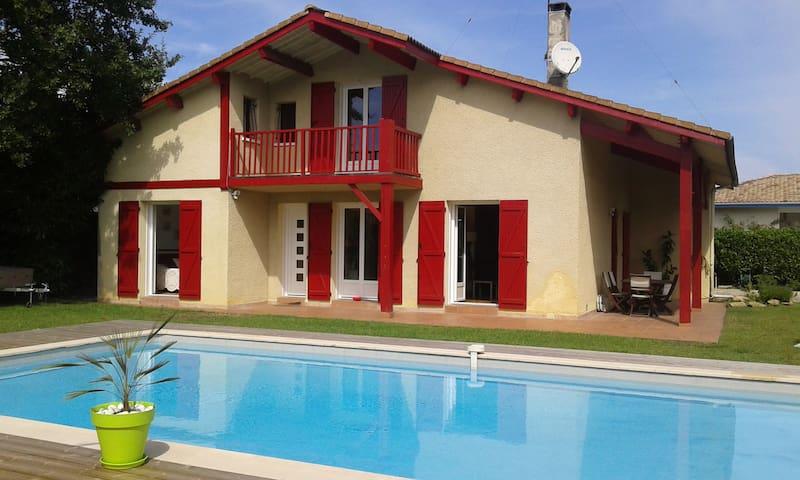 Maison landaise avec piscine - Biscarrosse - Talo