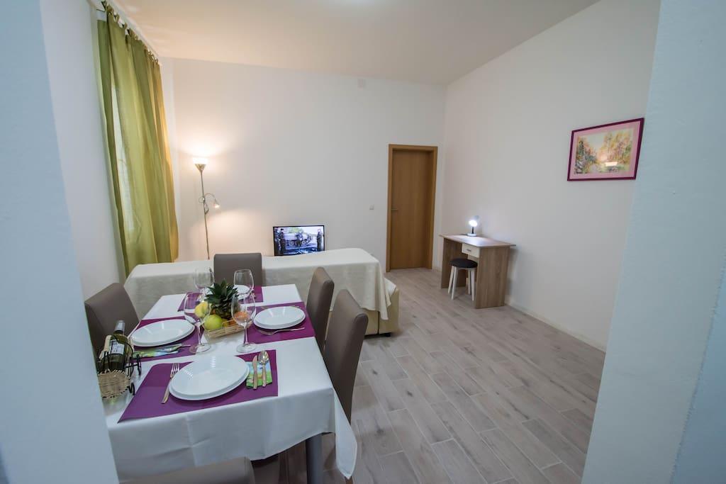 T2 dining & living room & PC corner