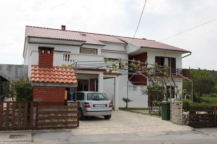 Studio flat with air-conditioning Ljubač (Zadar) (AS-6141-a)