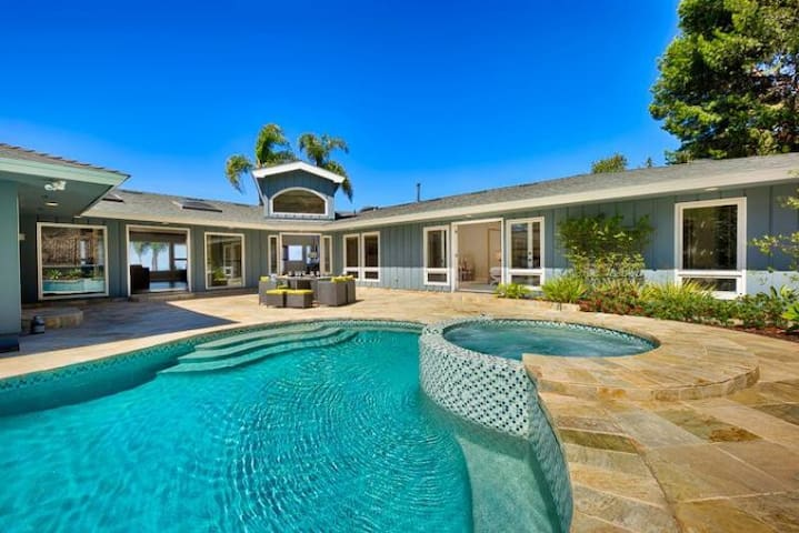 Gorgeous Ocean View Home with Pool and Jacuzzi