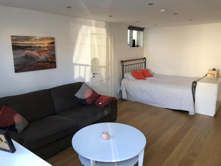 Modern studio in Stockholm