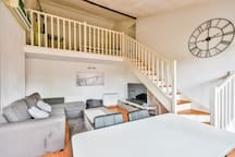 Bright duplex with terrace and parking RANGUEIL