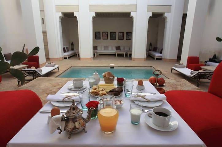 Riad Al Jazira, Chambre Supérieur B - Marrakesh - Casa