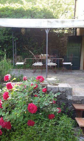 Enjoy a barbecue and alfresco dining on the terrace.