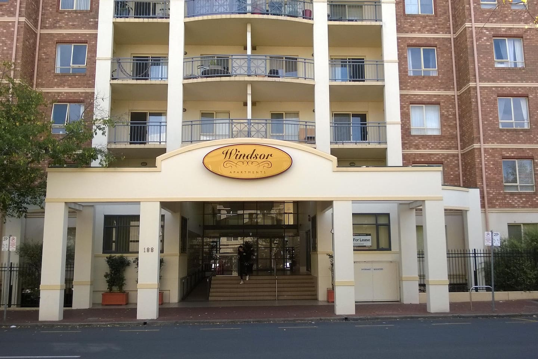Entrance 188 Carrington Street Adelaide