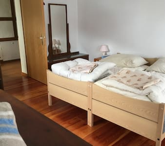 Double room or + bed in Mariana's mountain house
