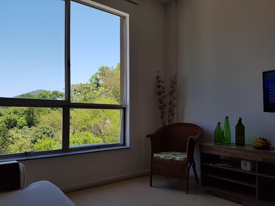 Vista da Sala - View from  living/dining room