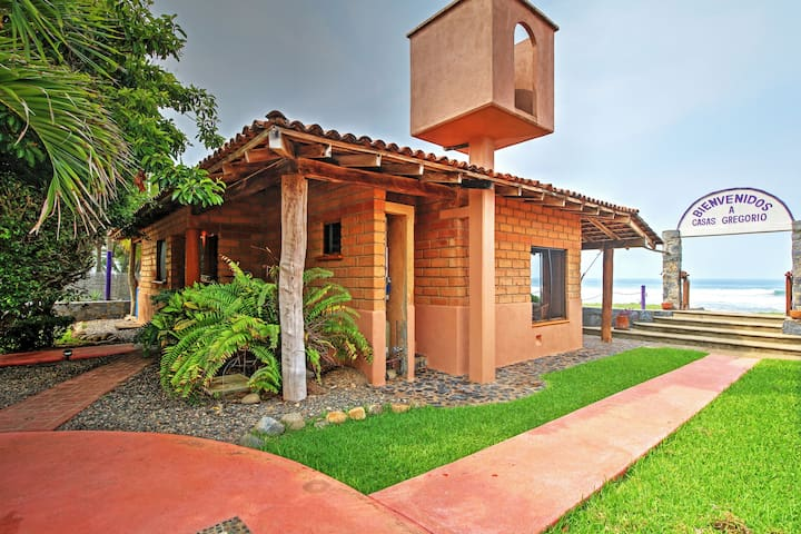 'Brick Casa' Troncones House Near Manzanillo Bay!