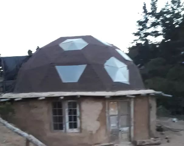 GEODESIC DOME IN LAGUNA VERDE