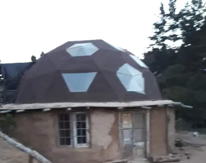 GEODESIC DOME IN LAGUNA VERDE