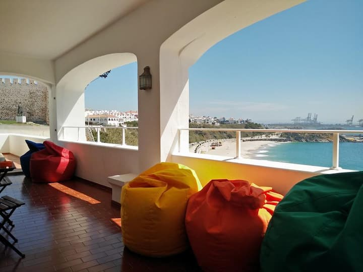 allmar Hostel - sea and beach view